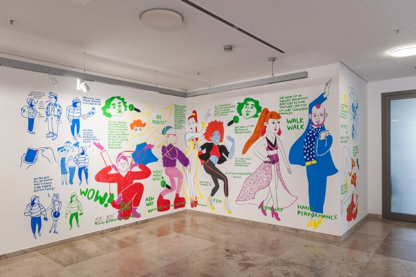 Burcu Türker, Werk Werk Werk, Comic, Ballroom, Voguing, Insight, Stuttgart