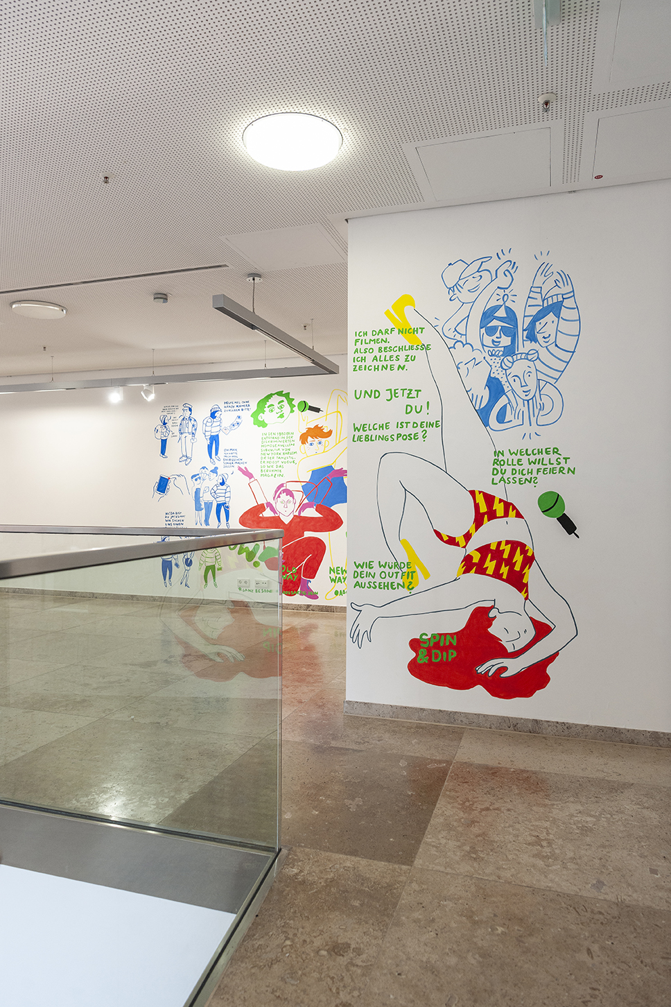 by Marcel Krailbuehler, Burcu Türker, Werk Werk Werk, Comic, Ballroom, Voguing, Insight, Stuttgart